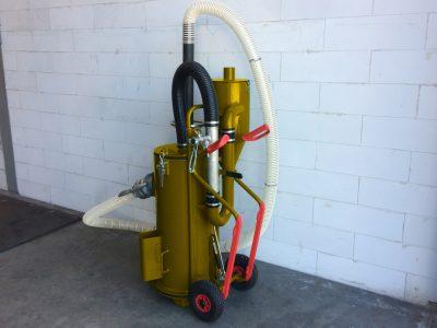 schoonzuigen gasleiding